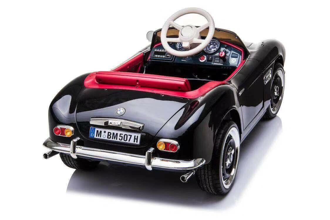 Kinder Elektro Auto Oldtimer BMW Retro 507 Kinder Auto EVA