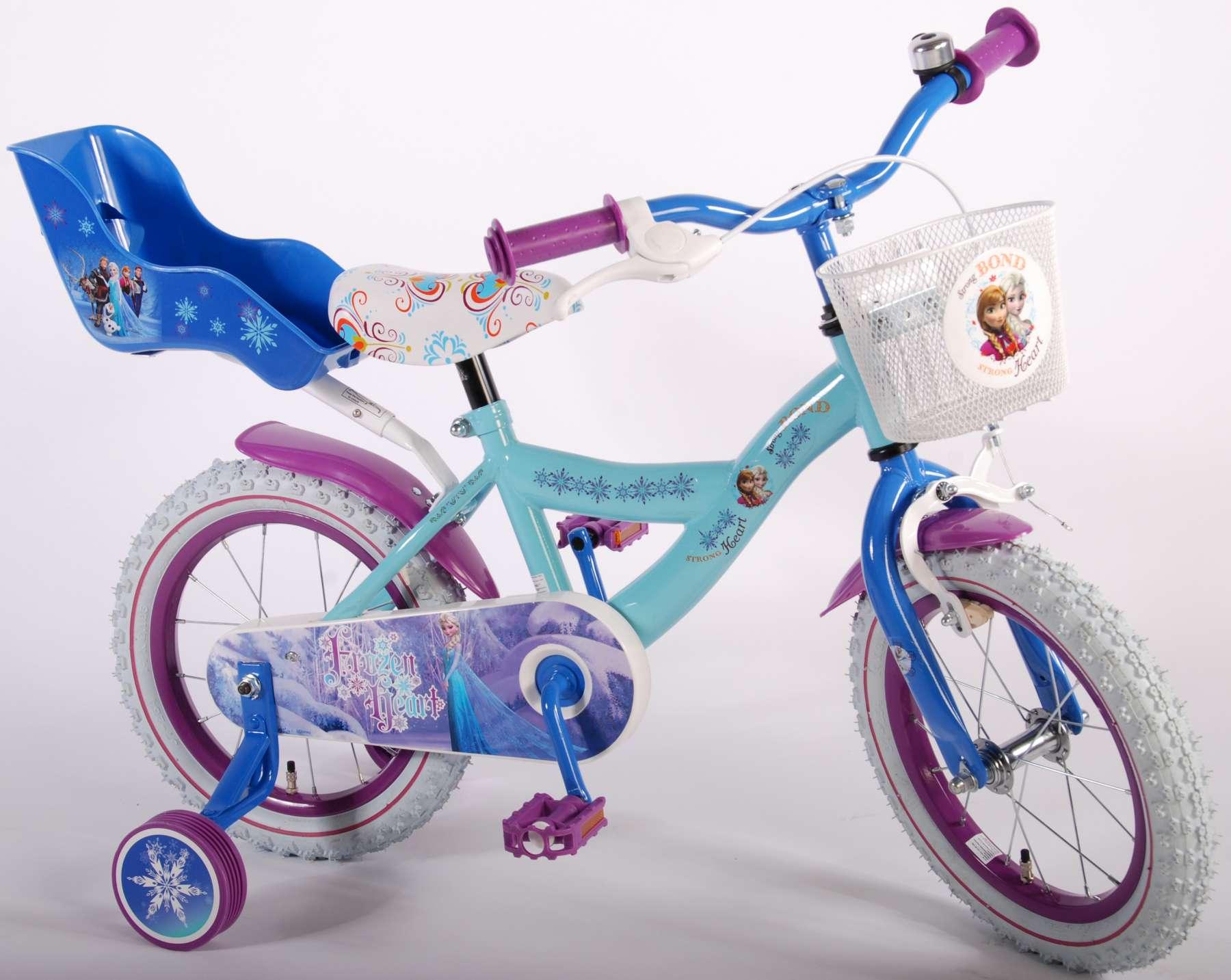 S More Color Disney Frozen Childrens Bicycle Basket
